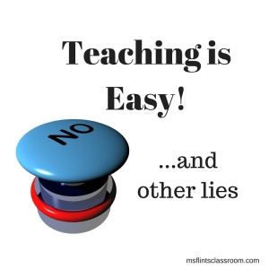 Teaching is Easy Square