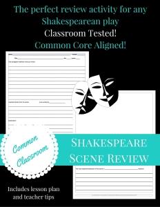 CC TPT Shakespeare Scene Review Cover