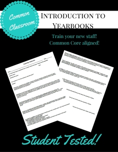 CCC Introduction to Yearbooks