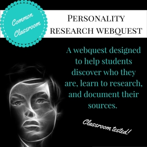 CCC Personality Research Webquest